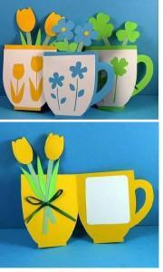 детские открытки с цветами