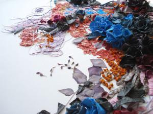 Коллажи-аппликации из природных материалов от Анастасии Ковалевой
